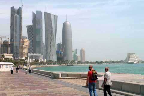 Doha Corniche, Doha, Qatar   Doha Corniche photos and more information