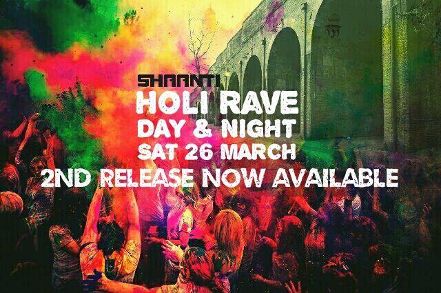 Holi Rave 2nd release