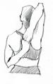 standing arm gomukhasana