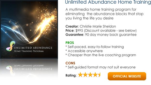 Unlimited Abundance - Christie Marie Sheldon