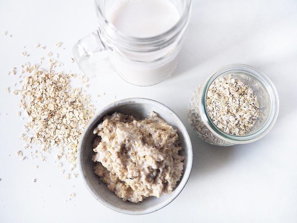 Porridge Grundrezept mit Haferflocken