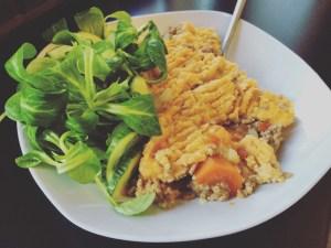 Shepherd's Pie mit Salat