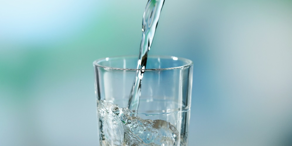 Glass of filtered water2 1 Take steps to ensure you are drinking safe water