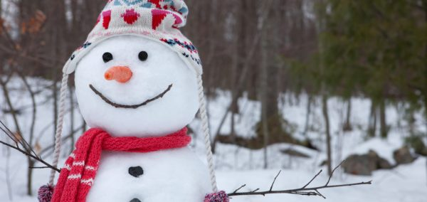 snowman e1483359887723 Nurturing that Happy Feeling During the Winter Months