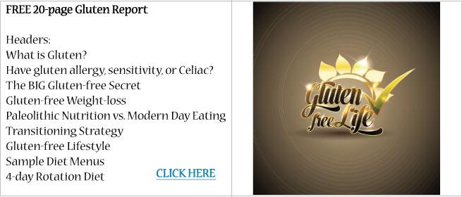 Gluten Report Free Gluten Report