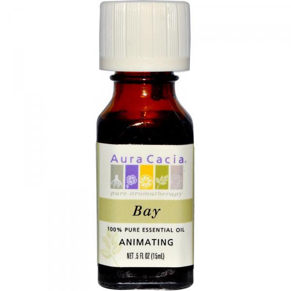 Aura Cacia Bay Essential Oil BAY PURE ESSENTIAL OIL .5 OZ