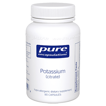 Potassium citrate Fatigue