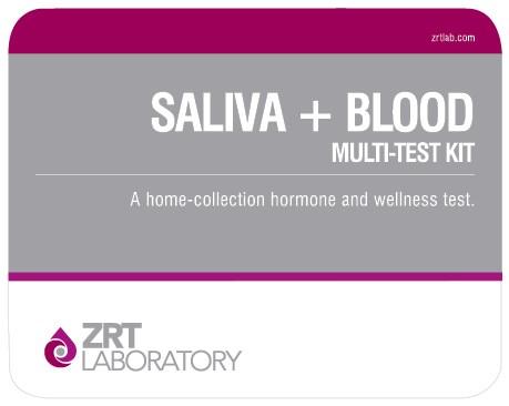 saliva plus blood kit image Female Comprehensive Profile