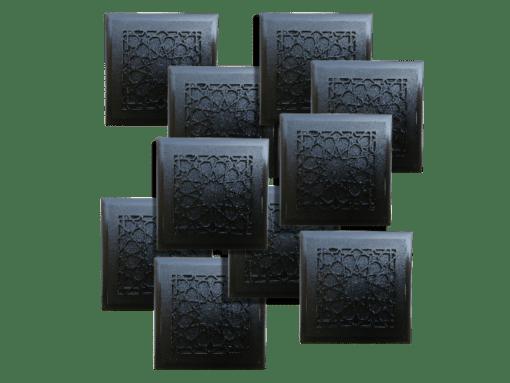 ten Tile design Beautiful Protective Shungite Orgonite Tiles | Moroccan Design