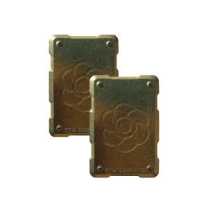 2 bronze shields Orgonite Phone Shields