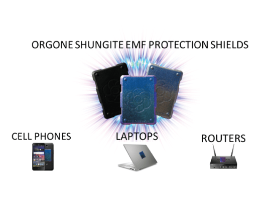 phone shield banner Orgonite Phone Shields