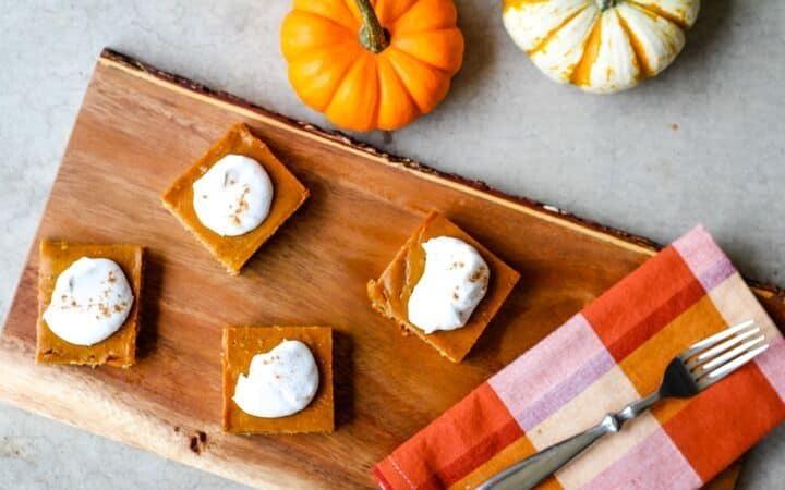 gluten free pumpkin pie bars Recipes