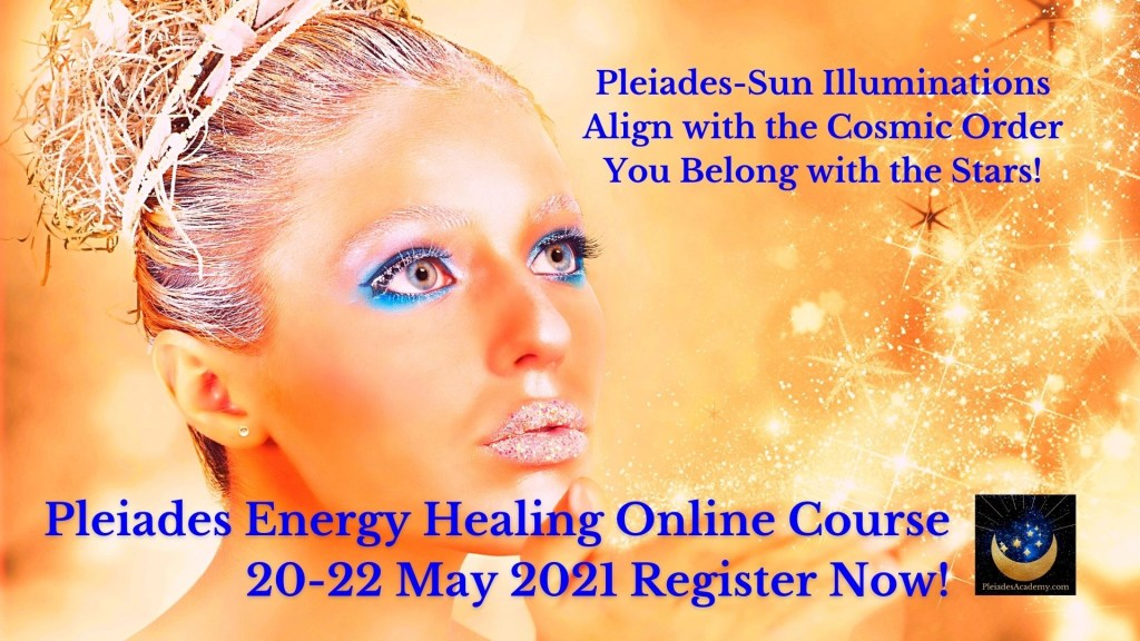 Pleiades Energy Healing Live Online Course | Sun-Pleiades Initiations for Consciousness Evolution
