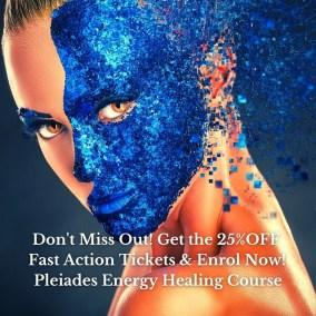 Enrol Now 25%off Pleiades Energy Healing Course