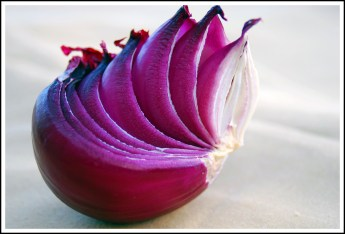 Onion. Red or Yellow will work depending on your preference.