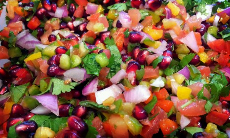 Pomegranate Pico de Gallo