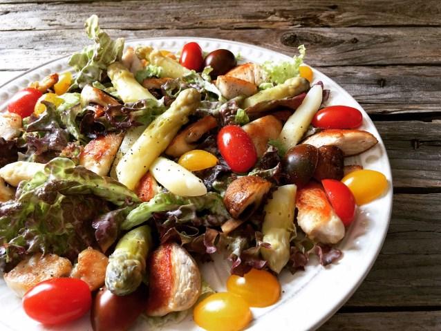 Gorgonzola Salat 4