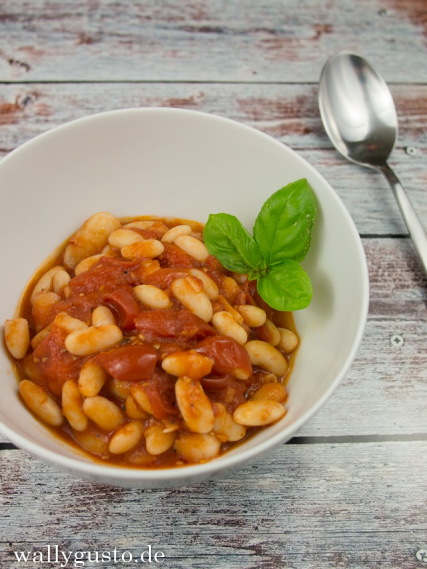 Bohnen in Tomatensauce healthy monday