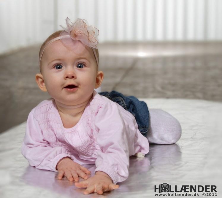 Model: Louise Borkfelt's datter - Foto: Thomas Hollænder