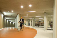 worlds largest bike parking facility200 - World's largest bike parking facility now open