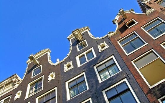 Some facades in Amsterdam