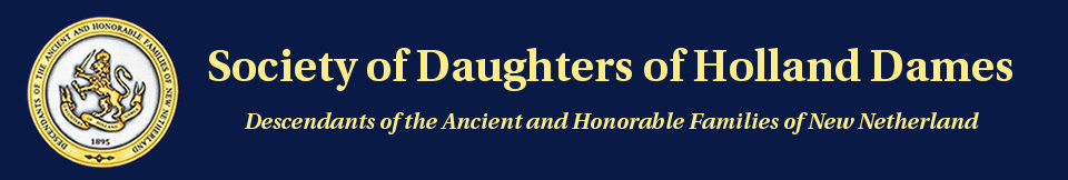 Society of Daughters of Holland Dames Logo