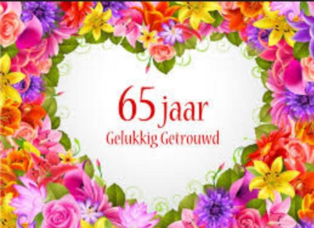 65 jaar getrouwd 65 jaar getrouwd en nog steeds dolgelukkig met elkaar | Hollands  65 jaar getrouwd