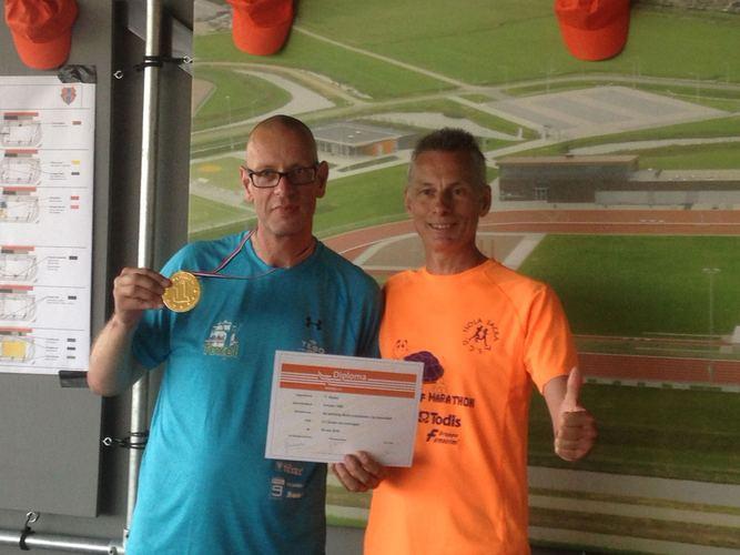 Teun Rooks en Ruud van Breukelen. (Foto: aangeleverd