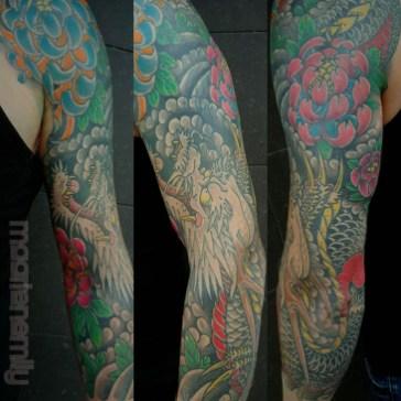 japanse tatoeage