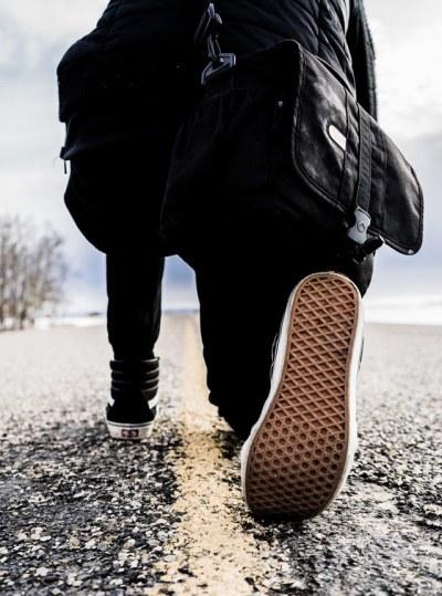 road-kneeling