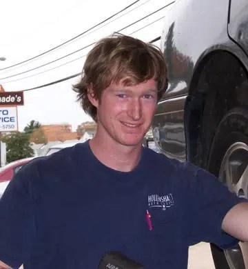 Photo of car mechanic at Hollenshade's Auto Repair Service