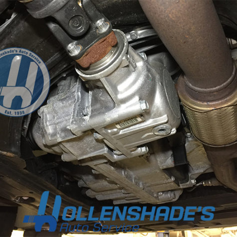 All-wheel drive differential transfer case