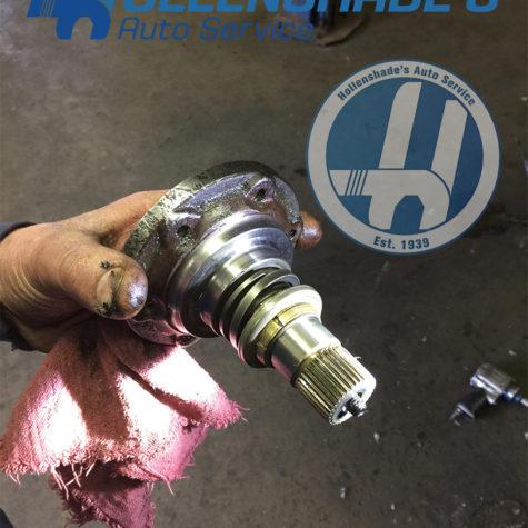 CV axle flange VW Volkswagen 2