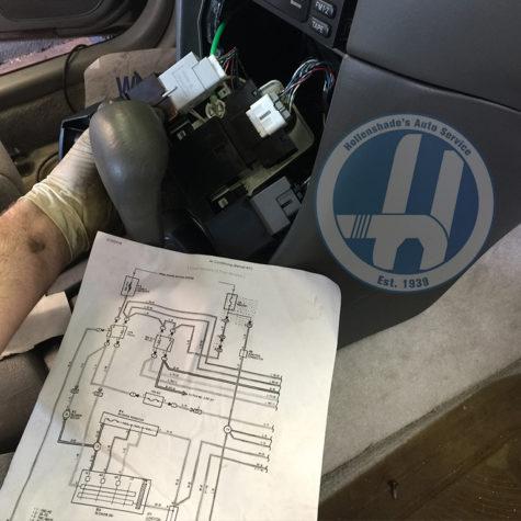HVAC Control Head Electrical Diagnosis Hollenshades Auto Service