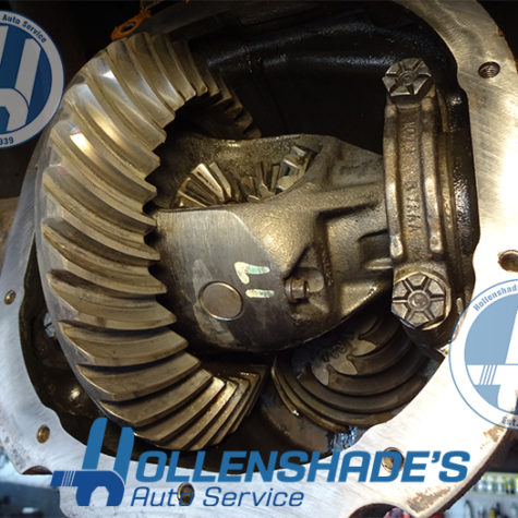 Rear Differential Axle