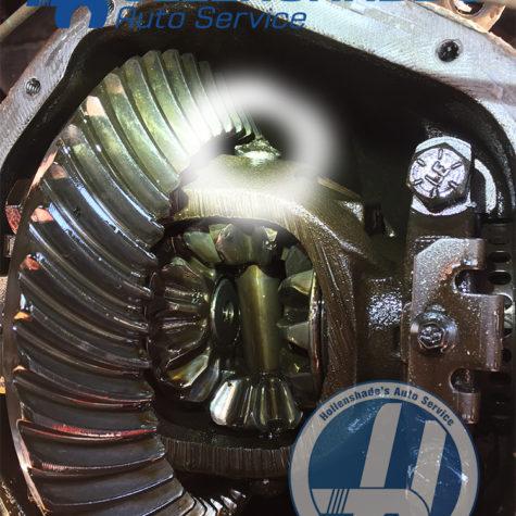 Rear Differential pinion shaft failure
