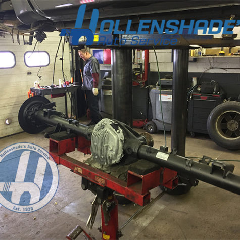 rear axle and differential housing replacement nissan titan pickup pat