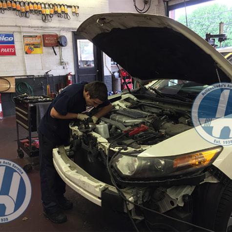 Honda maintenance and repair 1