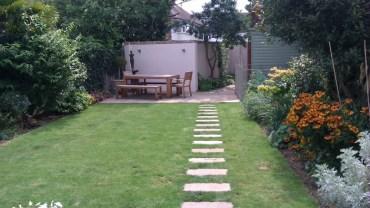 A contemporary twist to a Victorian garden