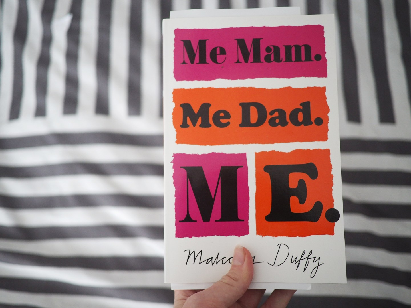 Book review of Me Mam. Me Dad. Me by Malcolm Duffy