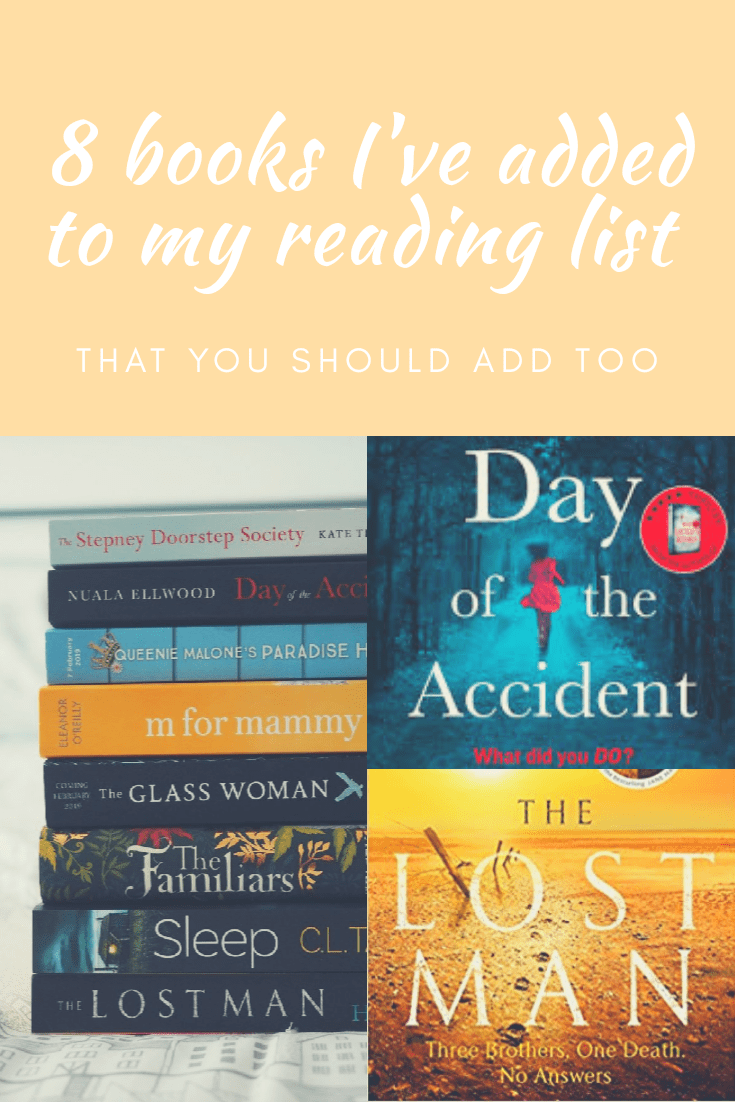 8 books I've added to my reading list that you should add too!