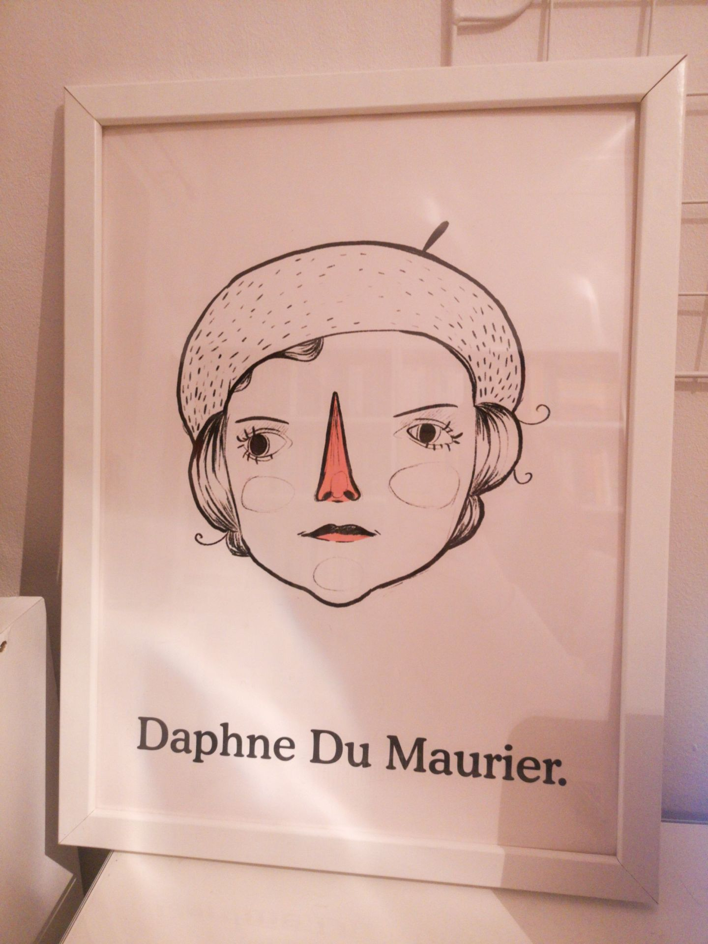 Daphne du Maurier Print | Hollie in Wanderlust Christmas Gift Guide 2019