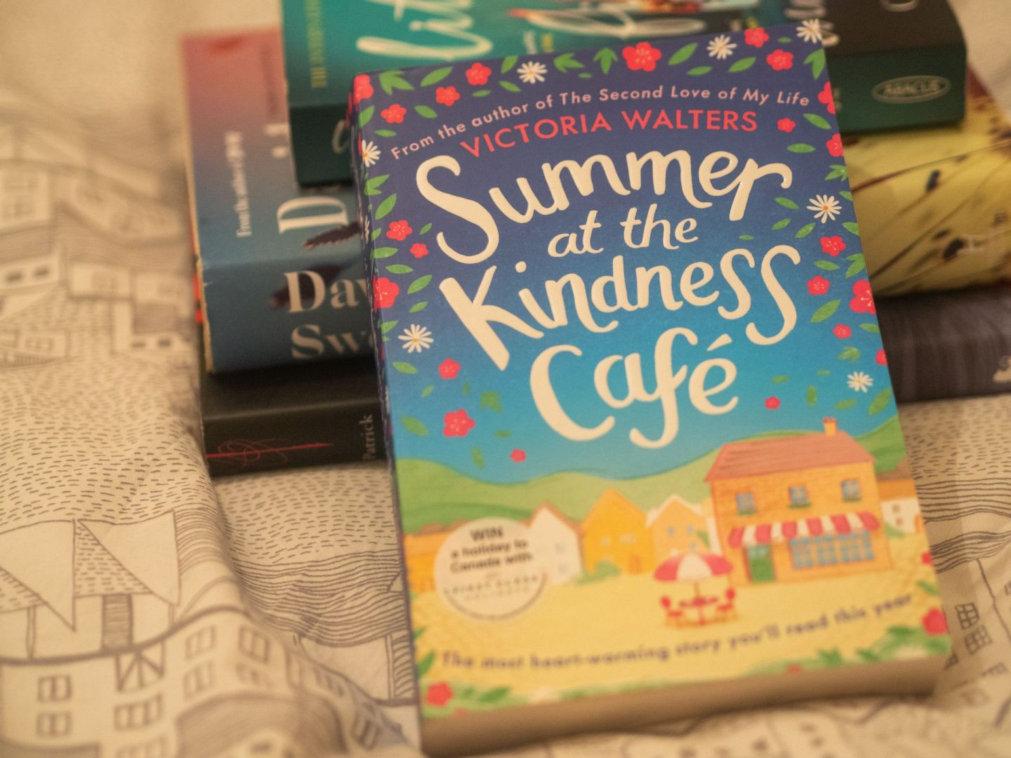 Summer at the Kindness Cafe by Victoria Walters