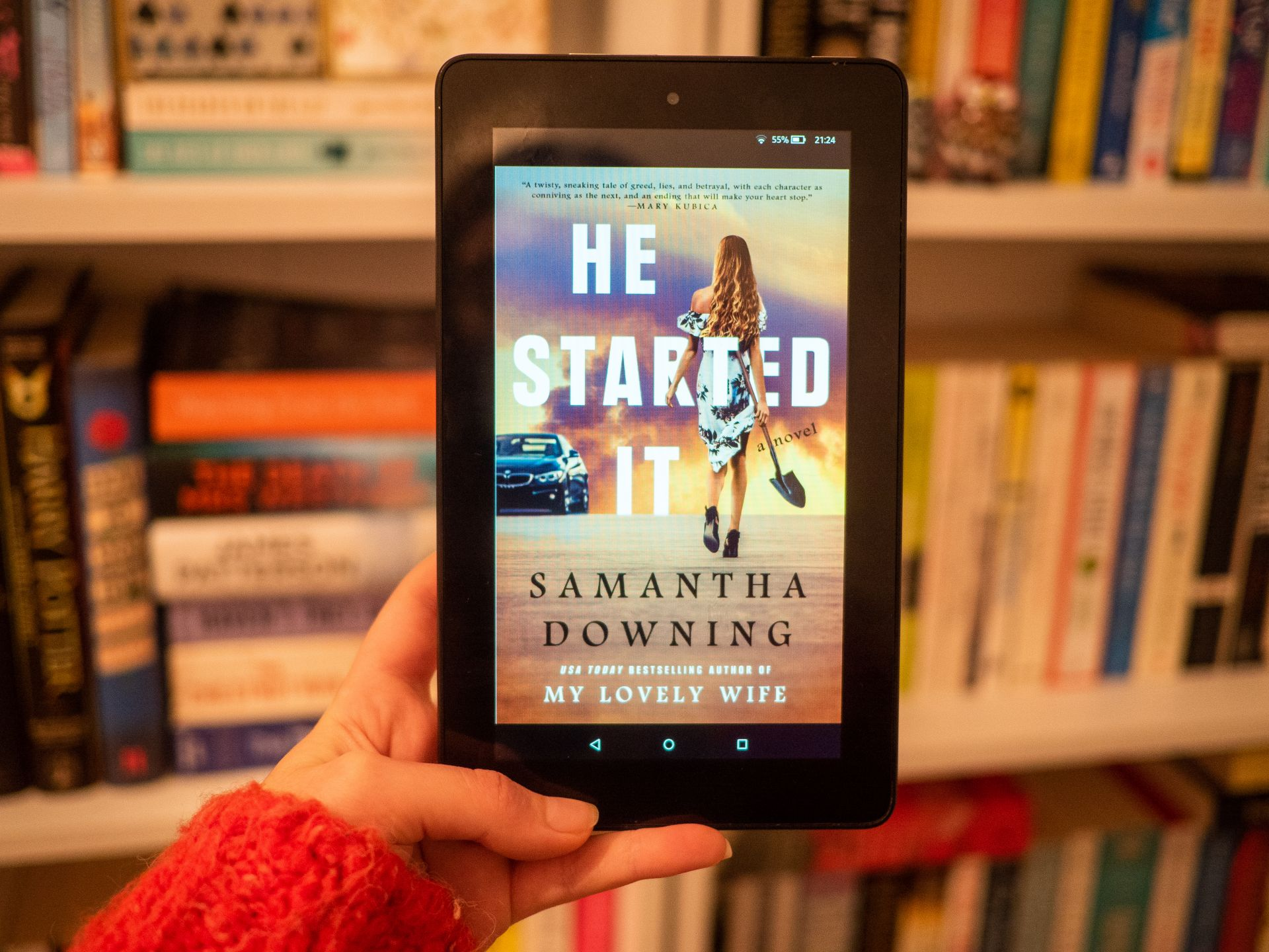 He Started It by Samantha Downing Book Review | Review of psychological thriller He Started It