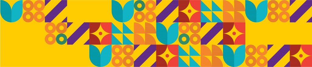 Graphic Pattern Used in District Branding