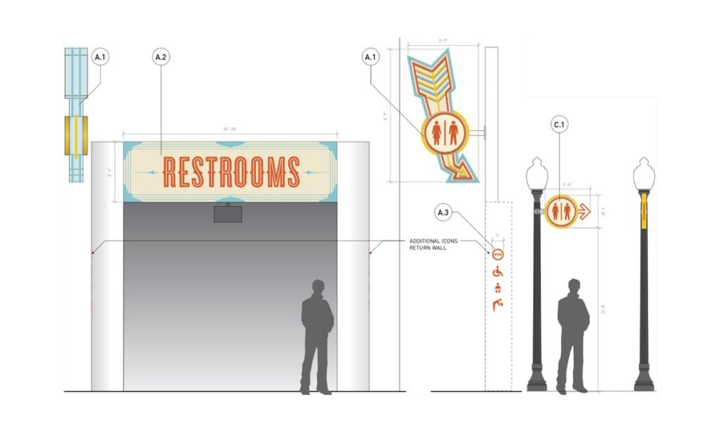 Belmont Park Restroom Elevation