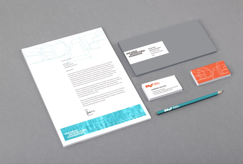 SDAF Print Collateral
