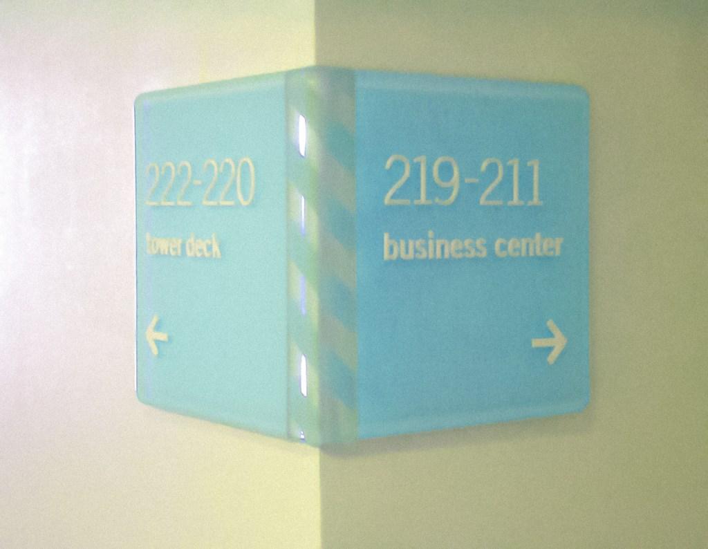 TOWER23 Wayfinding Signage