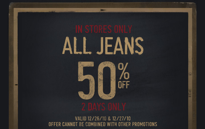 Image result for hollister jeans half off