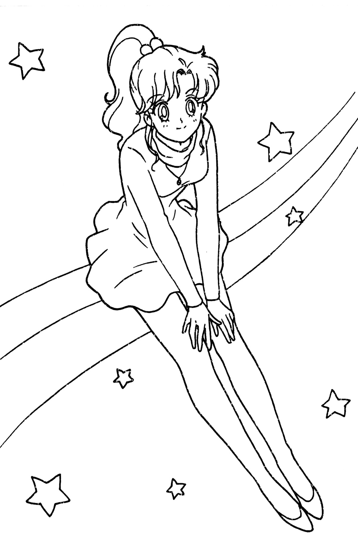 Planet Jupiter Coloring Pages